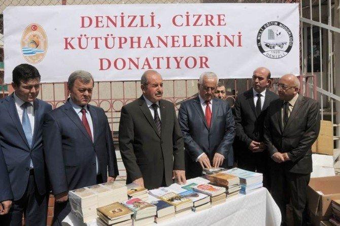 Denizli'den Cizre'ye 17 Bin Kitap Gönderildi