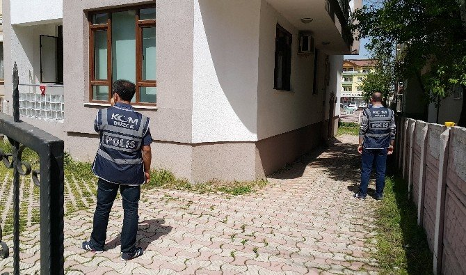 Düzce'de Zaman Gazetesi Bürosuna Polis Baskını