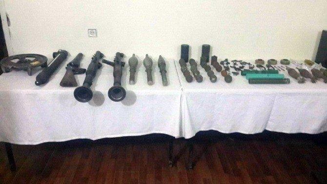 Şemdinli'de Silah Ve Mühimmat Bulundu