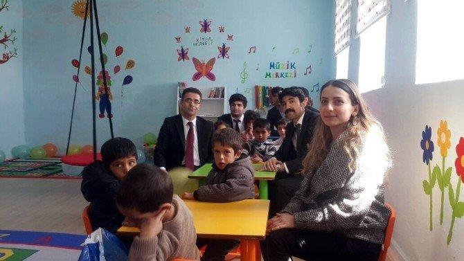 Kandildağı İlkokulu'na Yeni Anasınıfı Açıldı