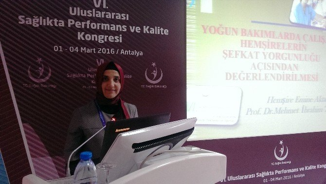 Salihlili Hemşire Türkiye Birincisi Oldu