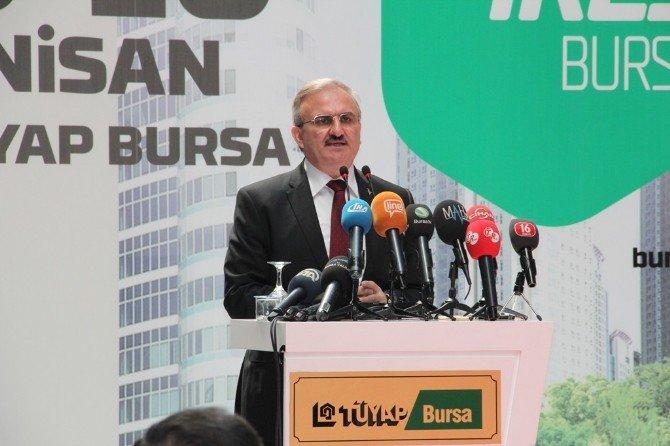 Milyonlarca Dolarlık Gayrimenkul Projeleri Bursa'da Görücüye Çıktı