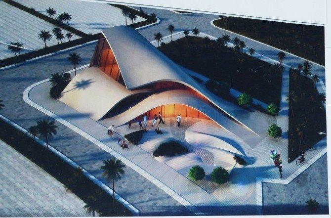 Katar'dan EXPO 2016'ya 'Çöl Gülü' Bahçesi