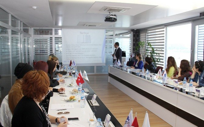Kayseri Kadın Girişimciler Kurulu Üyeleri, Erciyes Teknopark'ı Ziyaret Etti
