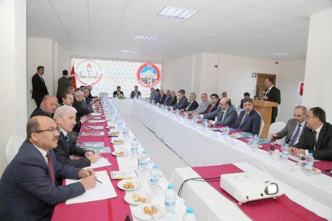 İl ve bölge müdürleri eğitim yatırımlarını görüştü