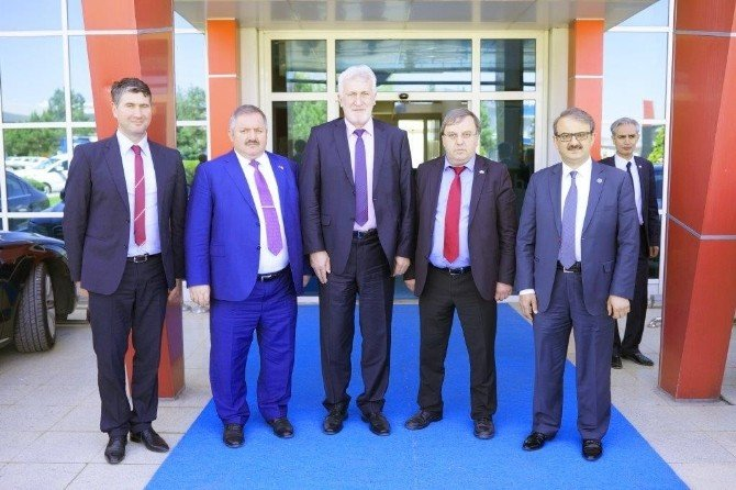 Bosna Hersek Heyeti'nden Bölge Müdürlüğümüze Ziyaret