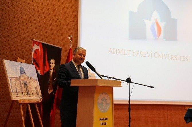 Kazan'da Ahmed Yesevi Konferansı Düzenlendi