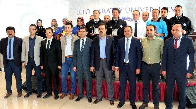 KTO Karatay Üniversitesi Personeli Ödüllendirildi