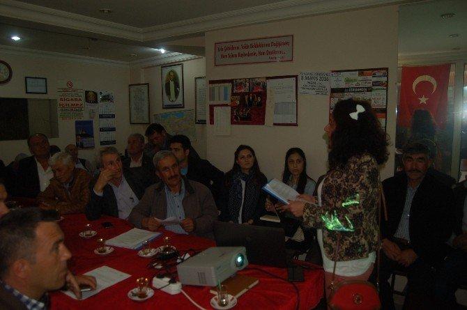Lapseki'de Kırsal Kalkınma Bilgilendirme Toplantısı