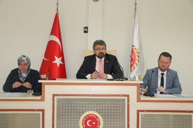 Bilecik İl Genel Meclisi 3'üncü Birleşimi Yapıldı