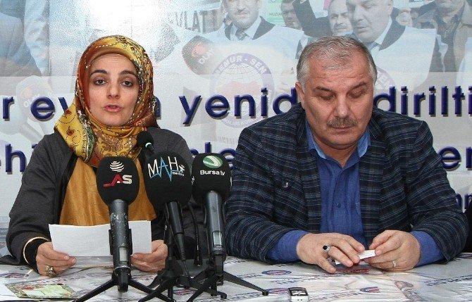 Memur-sen Kadın Kollarından Kılıçdaroğlu'na Tepki