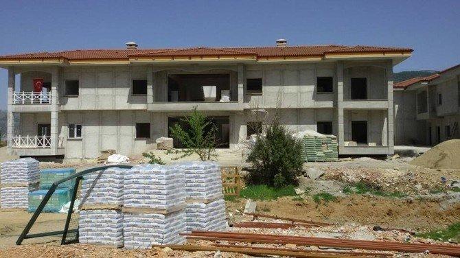 Muğla'da 7 Yıldızlı Yaşlı Bakım Evi İnşaatı Hızla İlerliyor
