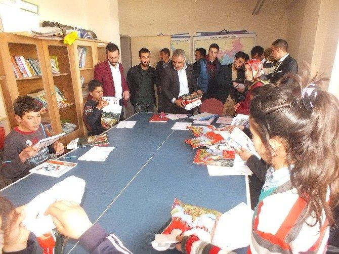 Malazgirtli Köy Çocuklarına TEOG Hazırlık Kitabi