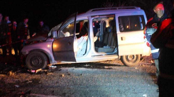 Nevşehir'de trafik kazası: 3 ölü, 2 yaralı