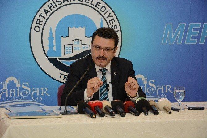 Ortahisar Belediye Başkanı Genç İkinci Yılını Değerlendirdi