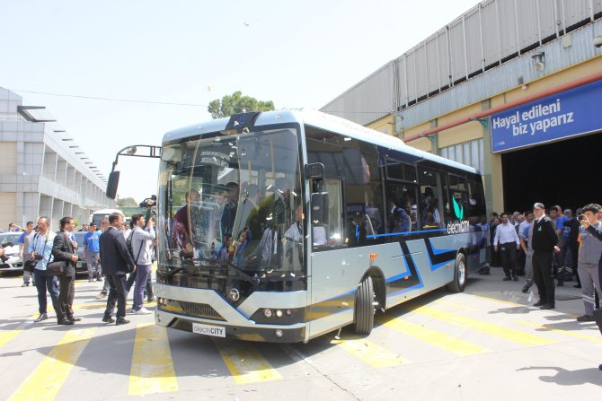 TEMSA'dan yerli elektrikli otobüs