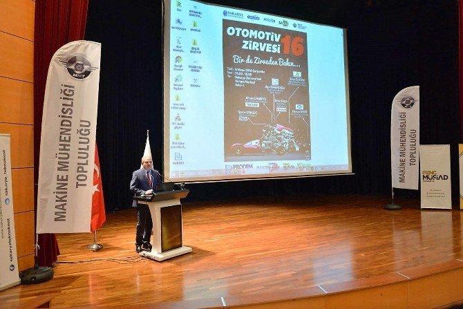 """""""Otomotiv Zirvesi 16"""" SAÜ'de Başladı"""