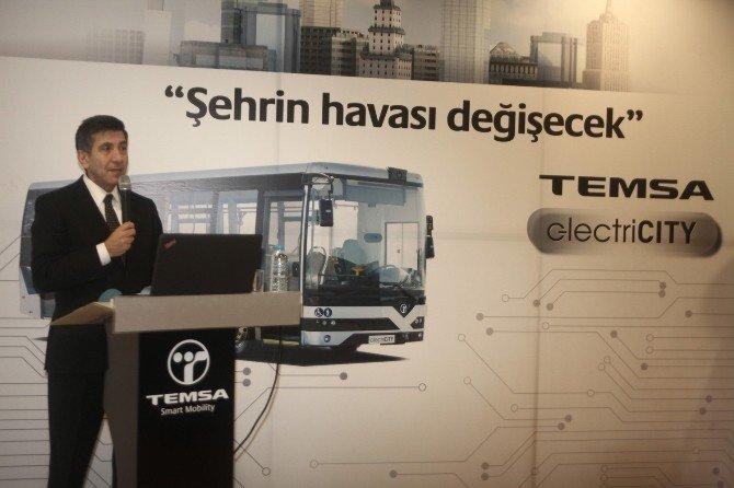 Temsa, Yeni Elektrikli Otobüsünü Tanıttı