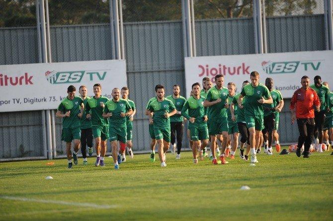 Bursaspor'da Sercan Yıldırım Antrenmanı Yarıda Bıraktı
