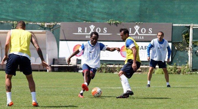 Antalyaspor, Kayserispor Maçı Hazırlıklarını Sürdürdü