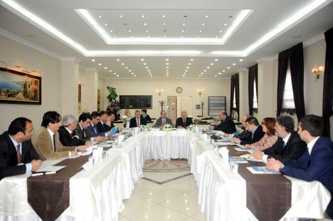 Bilecik'te Kamu, Üniversite Sanayi İşbirliği Toplantısı Yapıldı