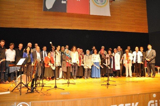 Bozüyük'te Toplum Ve Ruh Sağlığı Kursiyerlerinden Konser