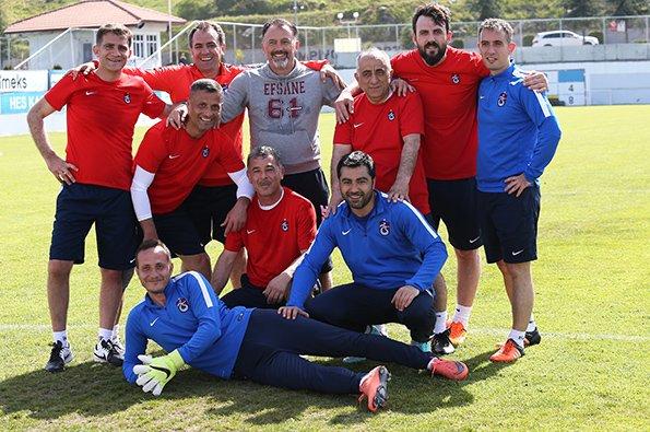 Trabzonspor'da M.Başakşehir maçının hazırlıkları sürüyor