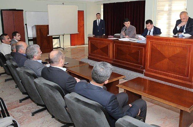 Üzümlü Belediyesi Meclis Toplantısı Yapıldı