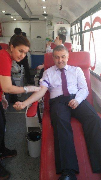 Çevre Ve Şehircilik Müdürlüğü'nden Kan Bağışı