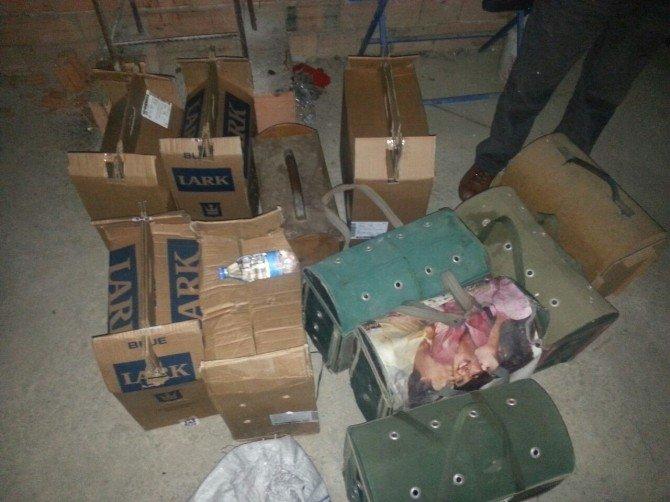 Aydın'da Horoz Dövüştürenlere Ceza Yağdı