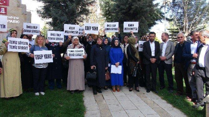 AK Parti Bilecik Kadın Kolları CHP Liderini Kınadı