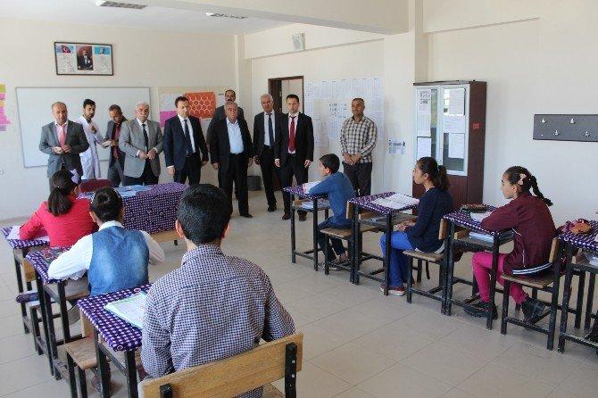 Samsatlı Öğrencilere TEOG Sınavları Öncesi Moral Ziyareti