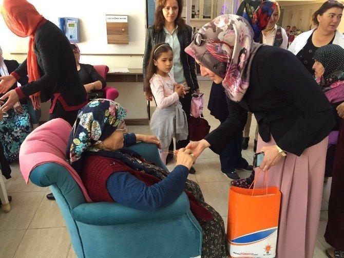 AK Partili Kadınlardan Yaşlılara Ziyaret