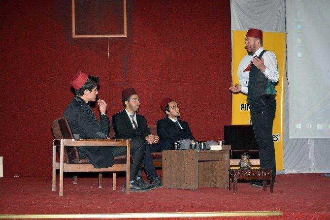 Pınarbaşı'nda Mehmet Akif Ersoy Konulu Konferans Düzenlendi