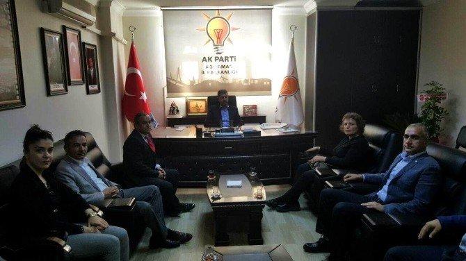Anadolu Hayad'tan AK Parti İl Başkanı Dimez'e Ziyaret