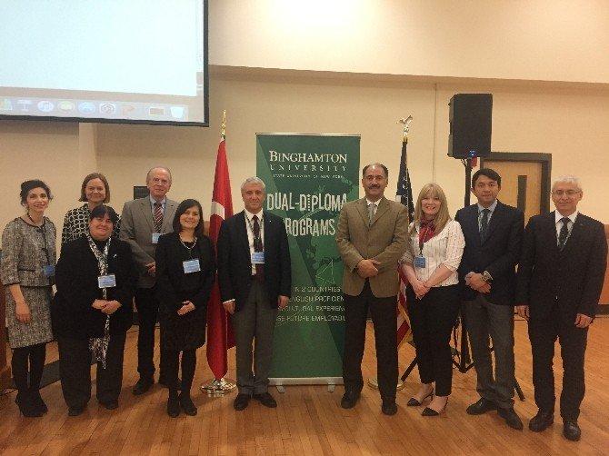 Anadolu Üniversitesi Rektörü Gündoğan'ın ABD Ziyareti