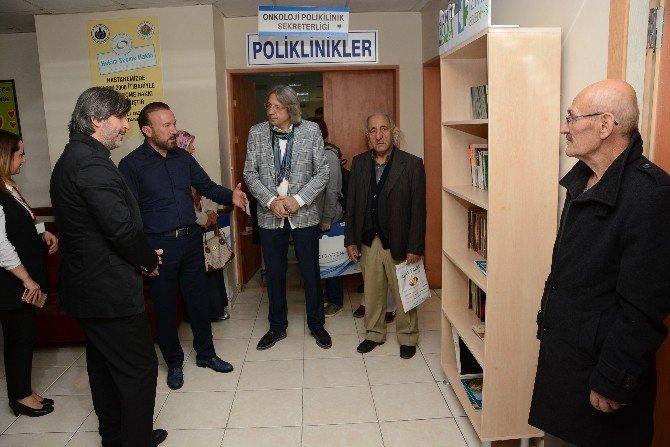 Başkan Doğan, Kitaplıkları Teslim Etmeye Devam Ediyor