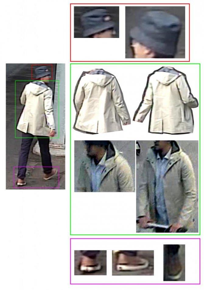 Şapkalı teröristin yeni görüntüleri ortaya çıktı