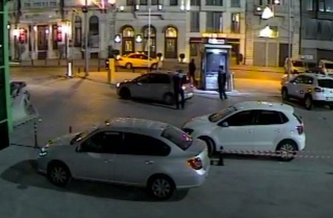 İspark Görevlisinin Öldürülmesi Güvenlik Kameralarına Yansıdı