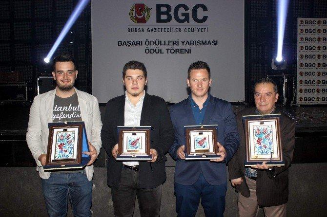 Bursa Gazeteciler Cemiyeti'inden İHA'ya 4 Ödül