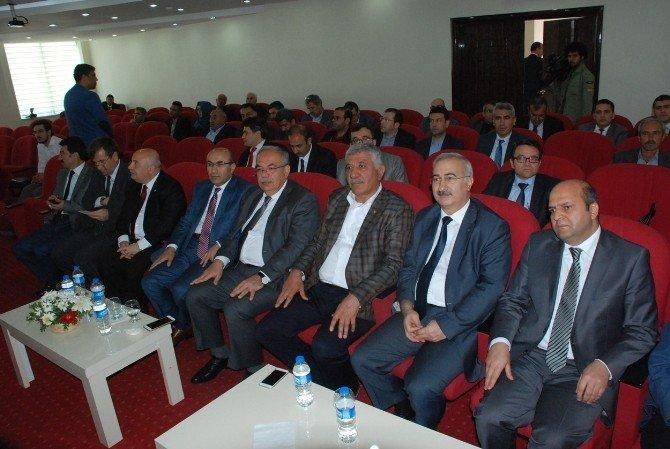 8. Bölge Bilim, Sanayi Ve Teknoloji İl Müdürleri İstişare Toplantısı Yapıldı