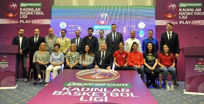 Bilyoner.com Kadınlar Basketbol Ligi'nde Play-off Heyecanı