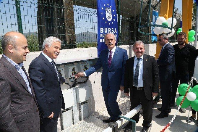 Bursa'nın Doğusu Da Sağlıklı Altyapıya Kavuştu