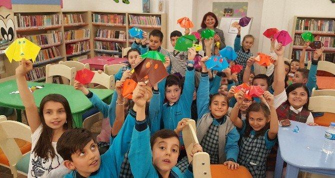 Bursa'da Renkli Kütüphaneler Haftası Kutlaması