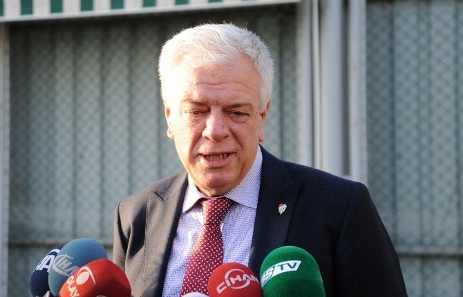 Fikret Orman Bursaspor'a Sözü Verdi