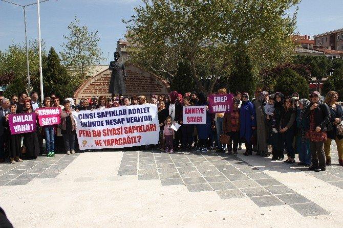 Çanakkale'de AK Kadınlardan Kılıçdaroğlu'na Tepki