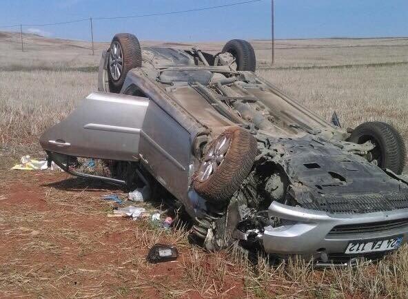 Çorum'da Otomobil Takla Attı: 5 Yaralı