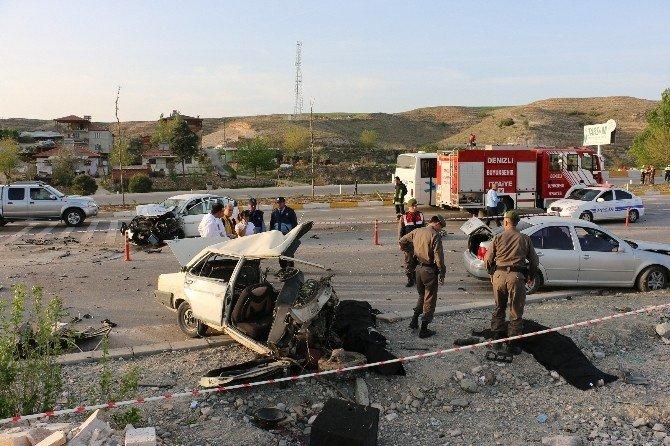 Denizli'de Feci Kaza: 3 Ölü, 4 Yaralı
