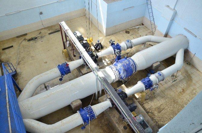 İçme Suyu Şebekesi Elektrik Üretim Tesisi Tamamlandı