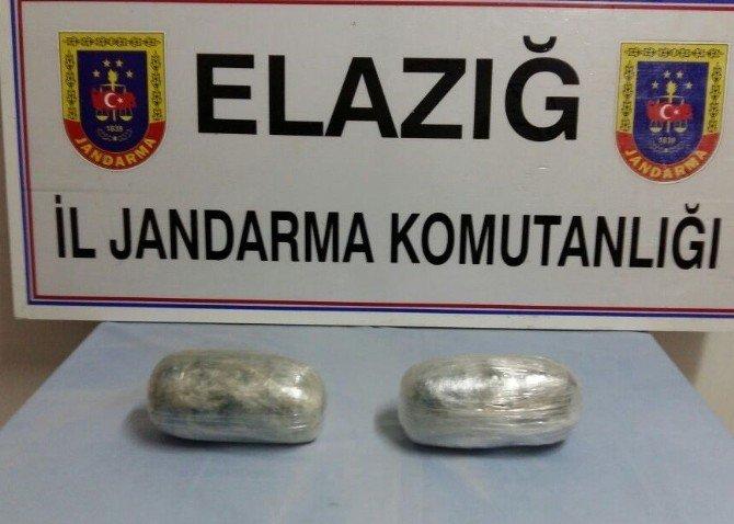 Jandarma 13 Kilo Esrar İle 12 Bin Paket Kaçak Sigara Ele Geçirdi